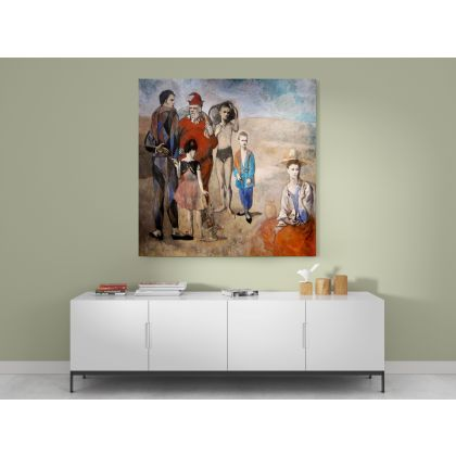 Family of Saltimbanques Painting by Pablo Picasso Real Painting Canvas Photo Print Home Decoration Wall Mural