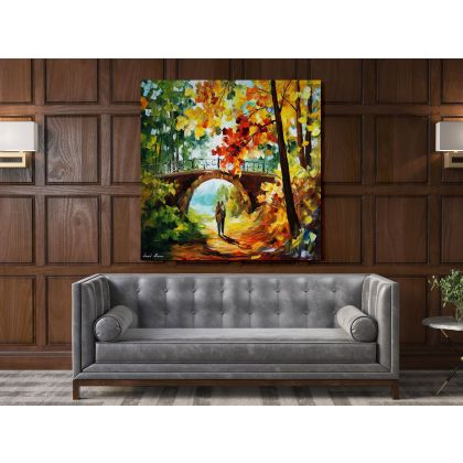 Famous Palette Knife Oil Painting by Leonid Afremov Canvas Photo Print Living Room Decoration Wall Mural