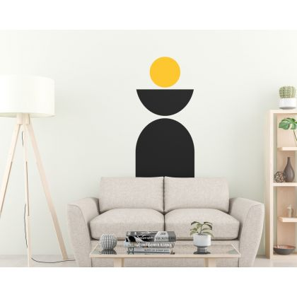 semi circle & arch Wall Decal Abstract Wall Stickers Boho Wall Decor