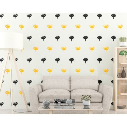 2 Colour Boho Wall Stickers Modern home look Wall Decal