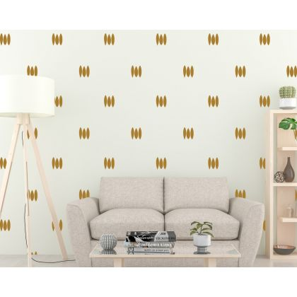 Set of 80 Lines wall Decal Abstract Boho Wall Stickers