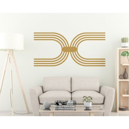 Half Arch wall Decal Abstract Boho Wall Stickers Home Decor