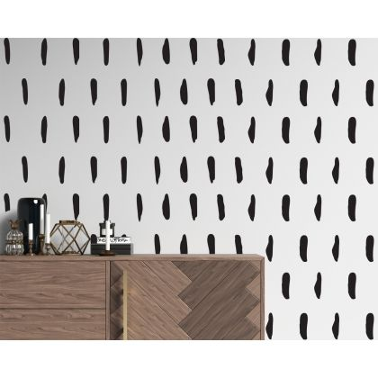 Set of 50 lines Geometric Pattern Wall Decal Abstract Wall Art