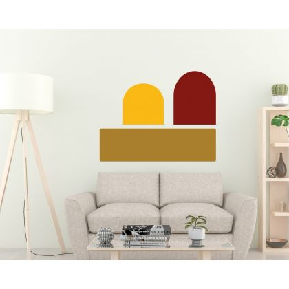 Boho Arches wall Decal Geometric Wall Art Abstract Wall Stickers