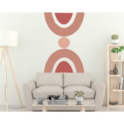 Boho Shapes Geometric Wall Decor Abstract Wall Art Decor