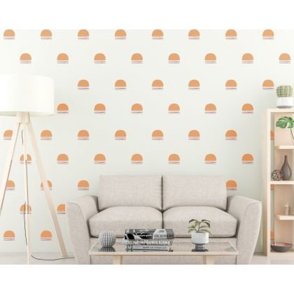 Geometric Shapes Boho Wall Decor Abstract Wall Art Decor