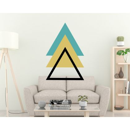 Triangle Boho Shapes Geometric Wall Decor Abstract Wall Art Decor
