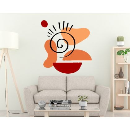 Boho Shapes Wall Stickers Abstract Shapes Wall Decals