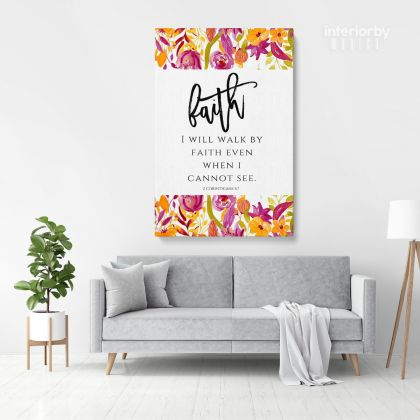 Holy Bible Verse Art Canvas Office Quote Print Ready Bible Verse Art Canvas