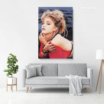 Modanna Print Poster in Canvas Rolled Personalised Canvas