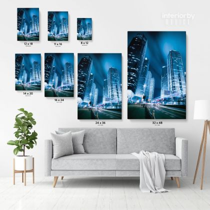 Portrait Canvas Photography Building Background Canvas with Frame/ Roll Home Decor Living Room Bedroom Wall Hangings Wall Artwork Mural Gift