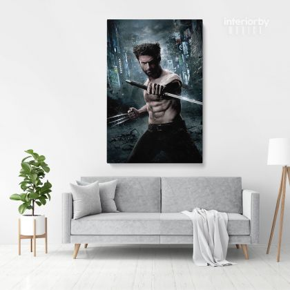 Logan The Wolverine Poster Print Canvas Kids Movie Art Wall Hangings Mural Gifts Canvas