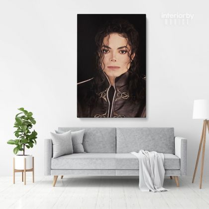 Michael Jackson Personalised Poster Canvas MJ Singer Lover Music Mural Wall Art
