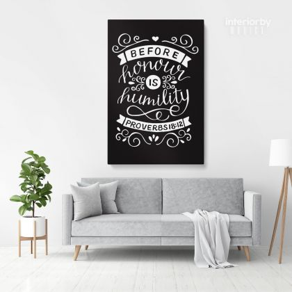 Bible Verse Canvas Office Quotes Scripture Wall Art Decals Quote Holy Bible Print Ready to Hang Canvas