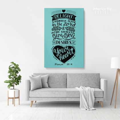 Bible Verse Canvas Office Wall Art Decals Quote Holy Bible Print Wall Hangings Christmas Gifts