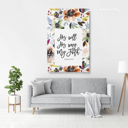 Love God Holy Bible Verse Canvas Office Scripture Canvas