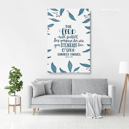 Holy Bible Verse Canvas Office Scripture Art Decals Quote Canvas