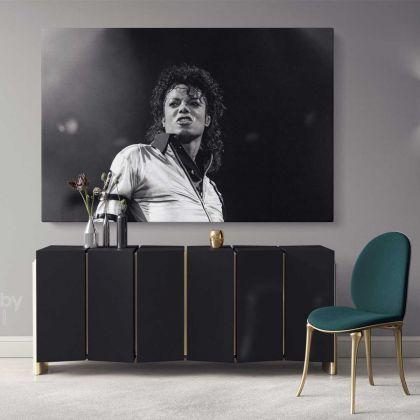 Michael Jackson King of Pop Art Canvas Mj Dance Moves Wall Art Print Poster Framed Canvas