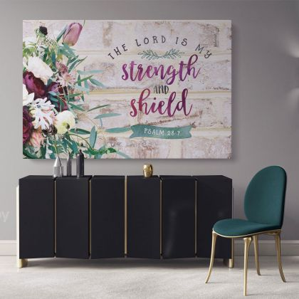 Holy Bible Verse Art Canvas Offices Scripture Decals Quote Print Ready to Hang Poster Home Wall Hangings Bible Verse Art Canvas