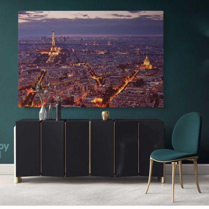 Eiffel Tower Paris France Canvas Wall Art Images Pictures Of Paris Canvas Print Poster Decor Landscape Print Home Decor Bedroom Mural Gift