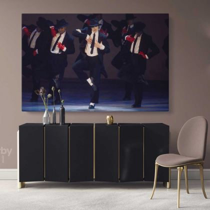 Michael Jackson Wall Art Canvas Mj Dance Moves Personalised Poster Framed Canvas