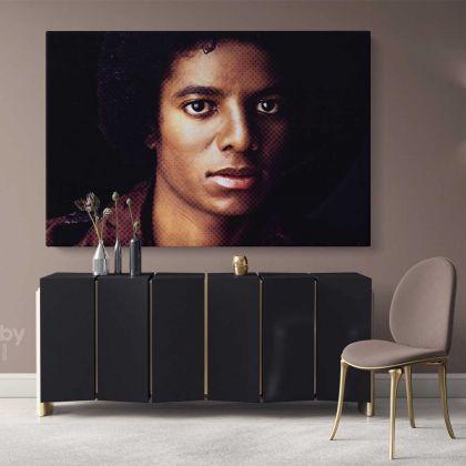 King of Pop Michael Jackson Art Canvas Mj Dance Moves Wall Art Print Poster Framed Canvas