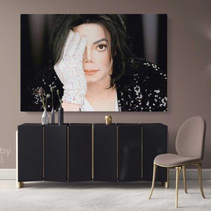 Michael Jackson King of Pop Art Canvas Mj Dance Moves Personalised Wall Art Print Poster