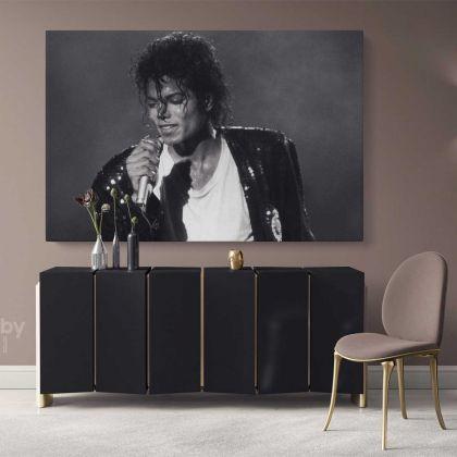 Legend Michael Jackson King Of Pop Singer Personalised Canvas Dance Moves Print Poster Frame