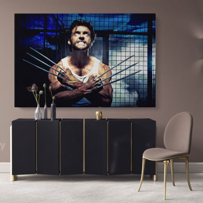 X Men Days of Future Past Marvel The Wolverine Logan Canvas Children's Bedroom Kids Artwork Home Decor Poster Print Wall Mural Hangings Gift