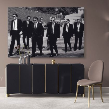 Reservoir Dogs Famous Iconic Movie Wall Art Print Poster Canvas with Frame / Rolled Artwork Picture Home Decoration Wall Hangings Mural Gift