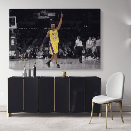 Last Game Kobe Bryant Basketball Player Mamba Mentality Canvas Photo Print Poster Canvas Home Decoration Sports Wall Art Mural Hangings Gift