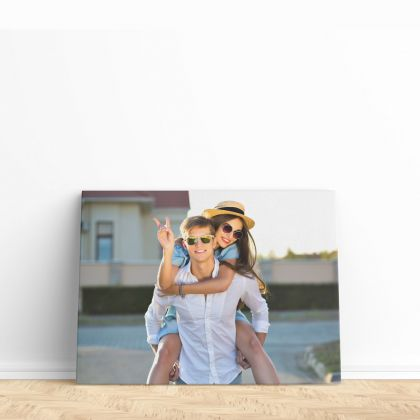 Personalized Canvas Different Size Family Poster Custom Print