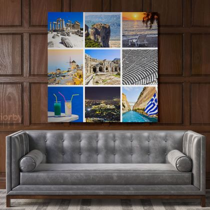 Athens Greece Travel Photography Poster Print Canvas