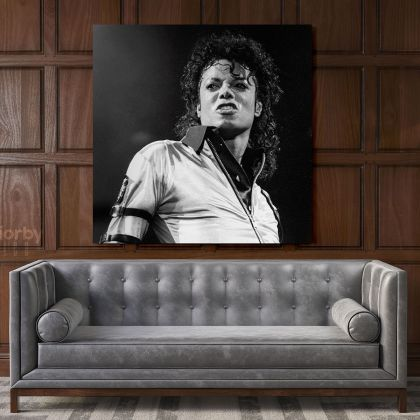 Michael Jackson King of Pop Quote Canvas Mj Dance Moves For Wall Art Print Poster Framed Canvas