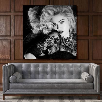 Modanna Sexy Print Personalised Poster in Canvas, Rolled Canvas