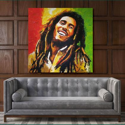 Bob Marley Photo Print Canvas Bob Marley Art Canvas Poster Printed Picture Wall Art