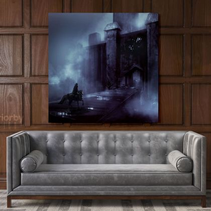 Kids Gaming Wall Art Modern Abstract Gamer Zone Poster Print Canvas with Frame Print Living Room Wall Hanging Mural Artwork Gift