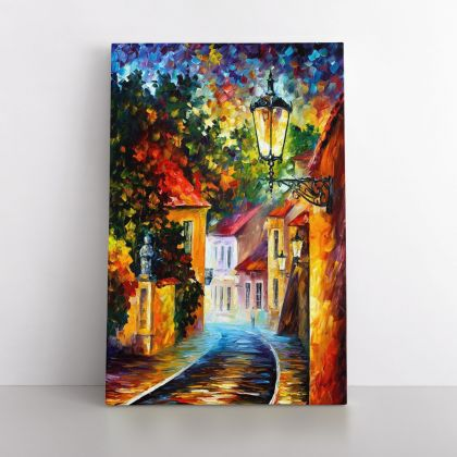 Famous Palette Knife Art Oil Painting by Leonid Afremov Photo Print on Canvas with Frame Home Decor Wall Mural