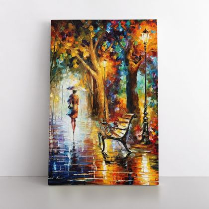 End of Patience - Famous Palette Knife Art Oil Painting by Leonid Afremov Photo Print on Canvas Home Decor Wall Mural