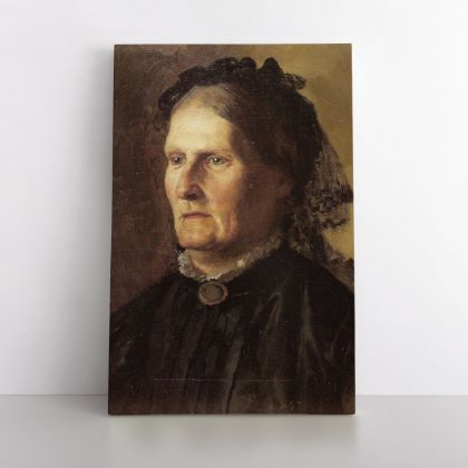 Portrait of a Mother of Henryk Hector Siemiradzki Photo Print on Canvas