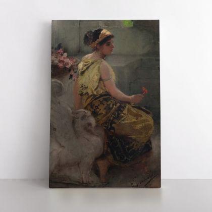 Henryk Hector Siemiradzki Paintings, Couple Art, Art Eras, Female Art