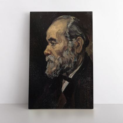 Vincent Van Gogh Painting Portrait of An Old Man with Beard Abstract Painting Photo Print Canvas with Frame Wall Art Mural