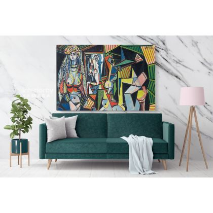 Pablo Picasso Tribute to Matisse expected Most Expensive Painting Canvas Photo Print Home Decor Wall Posters Gift
