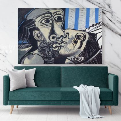 Famous Pablo Picasso Painting Artistic Modernism Painting Canvas Photo Print Home Decor Wall Posters