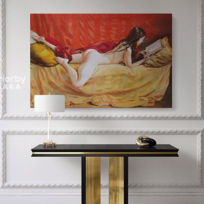 Women Erotic Artworks by Owen Claxton CanvasPhoto Print Naked Girl Fine Artist Painter Home Decor Wall Mural