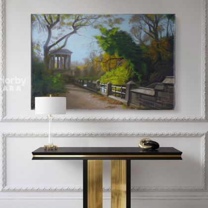 Artworks by Owen Claxton Canvas Photo Print Fence Fine Artist Painter Home Decor Wall Mural Hangings Gift