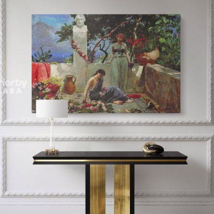 Henryk Hector Siemiradzki: Monumental Academic Art Giclee Print on Canvas