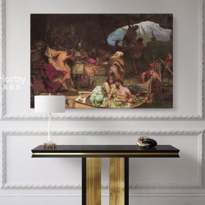 Henryk Hector Siemiradzki Pirates Oil Paintings Photo Print on Canvas