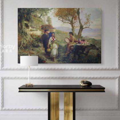 Famous Henryk Hector Siemiradzki Paintings Print on Canvas