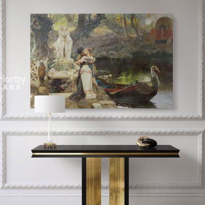 Henryk Hector Siemiradzki: Polish Painter Classic Russian Paintings Print on Canvas